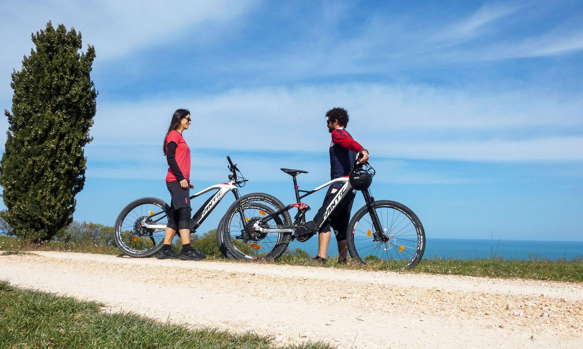 Freeride Civitanova Kiteschool e-bike rental